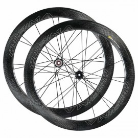 RUEDAS CORIMA WS BLACK 58MM DISC TUBULAR